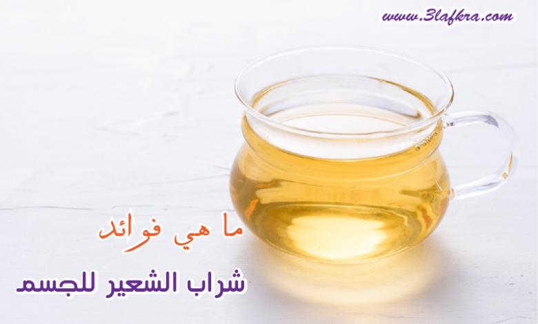فوائد شراب الشعير موسي